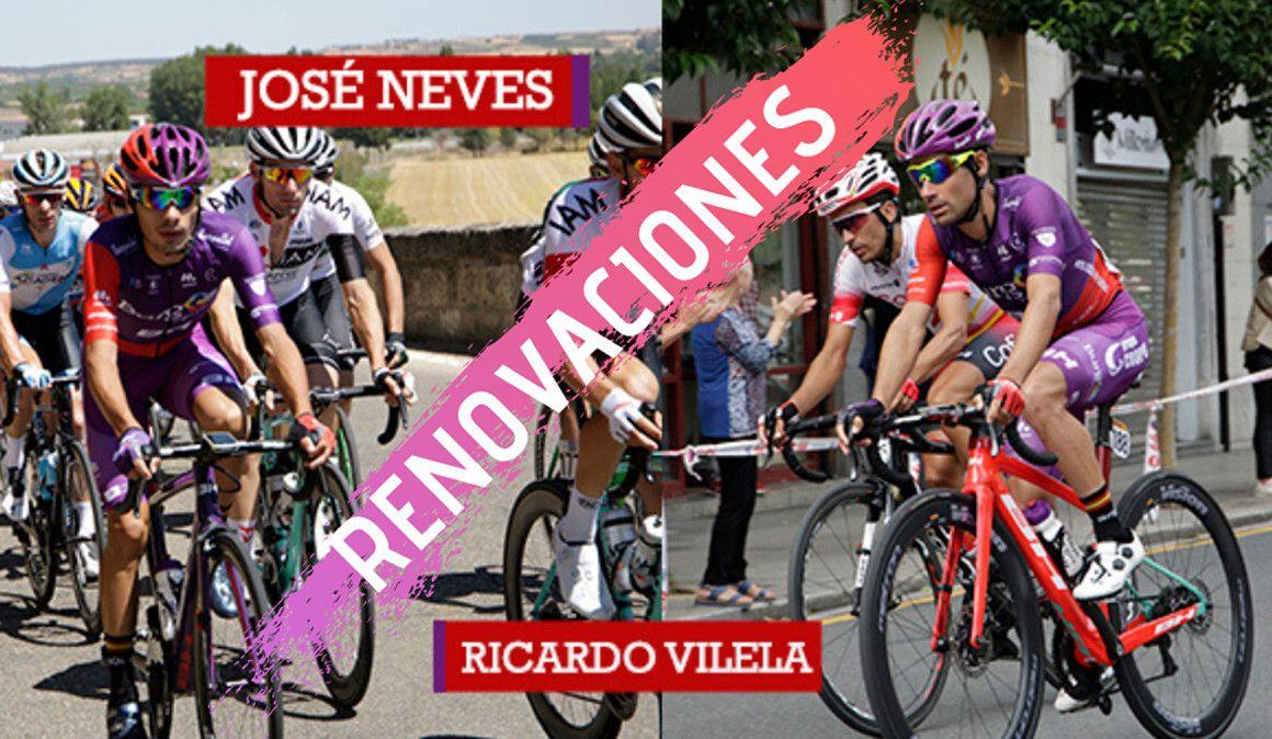 Ricardo Vilela e José Neves renovam com a Burgos-BH
