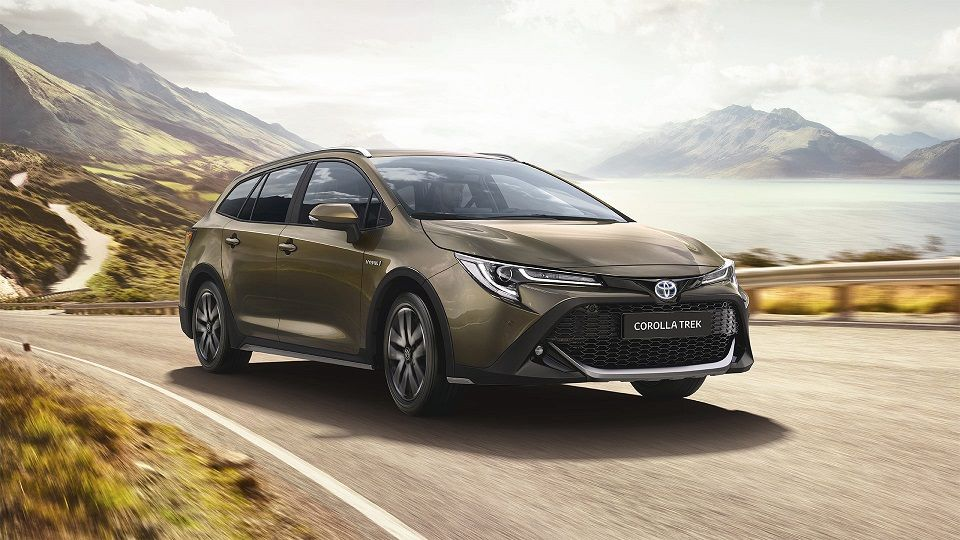 Toyota Corolla TREK – Concebida para estilos de vida ativa