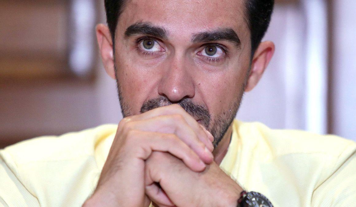 Alberto Contador internado na Colômbia