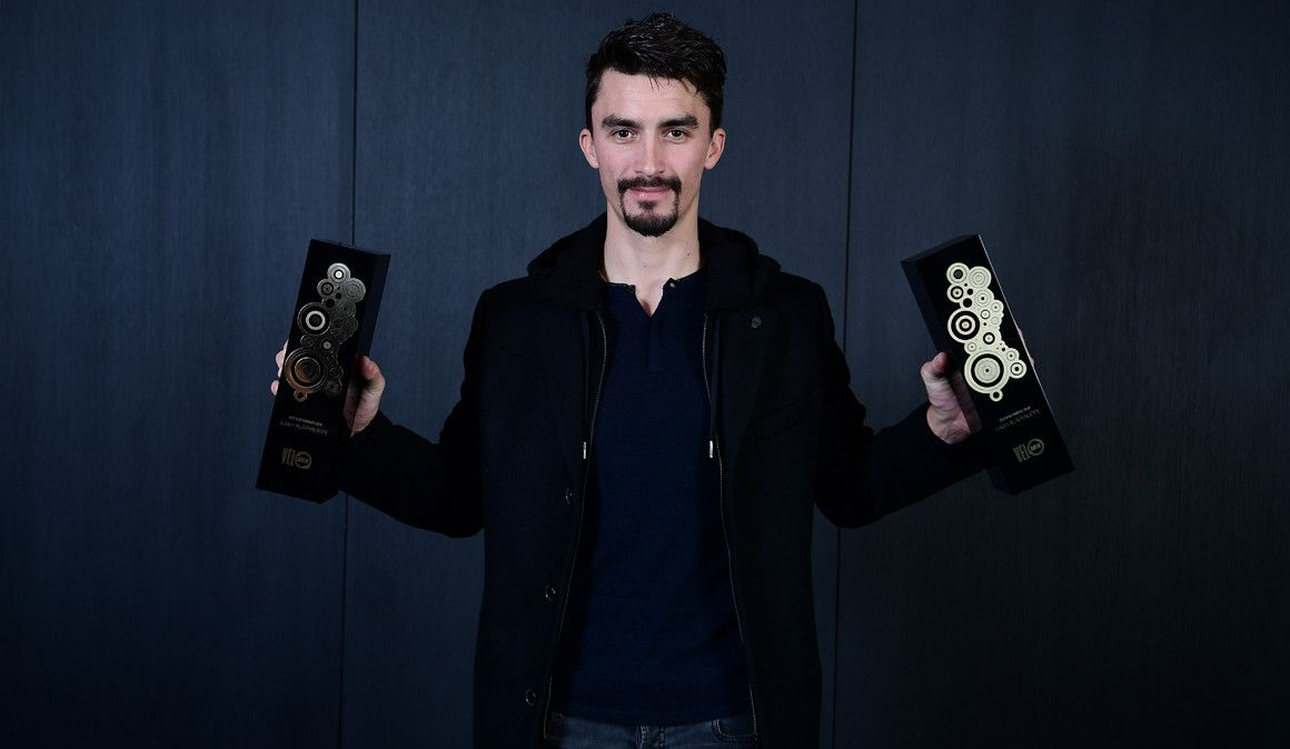 Julian Alaphilippe, vencedor do prémio Vélo d´Or