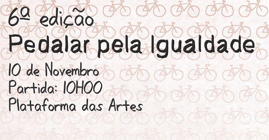 """Passeio de Bicicleta """"Pedalar Pela Igualdade"""" em Guimarães"""