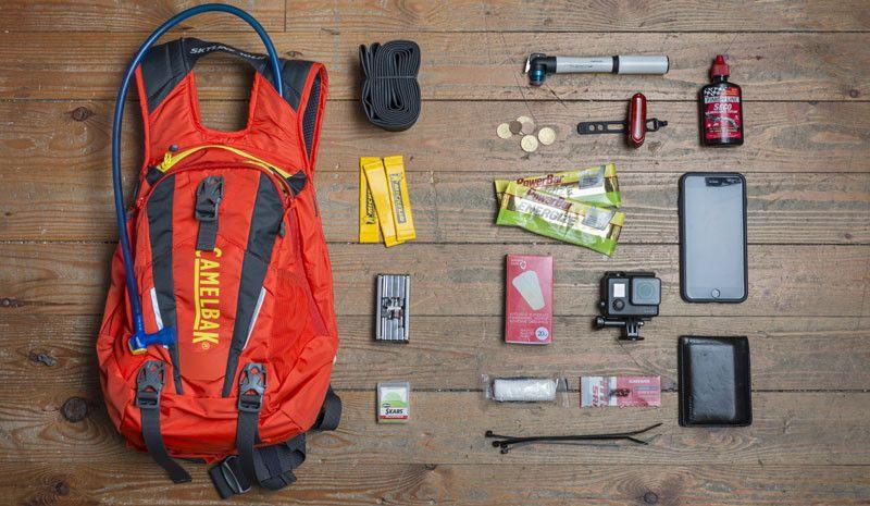O que é que devemos levar na mochila?