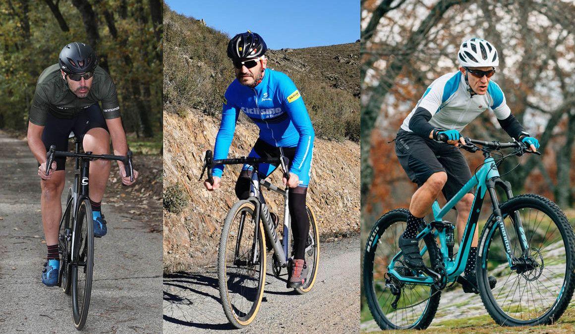 A eficiência de pedalada na bicicleta de estrada, gravel e BTT