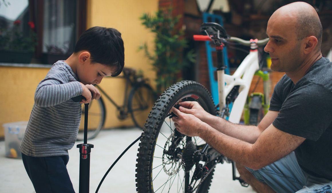 Vida familiar e ciclismo/BTT. 5 truques para conciliar