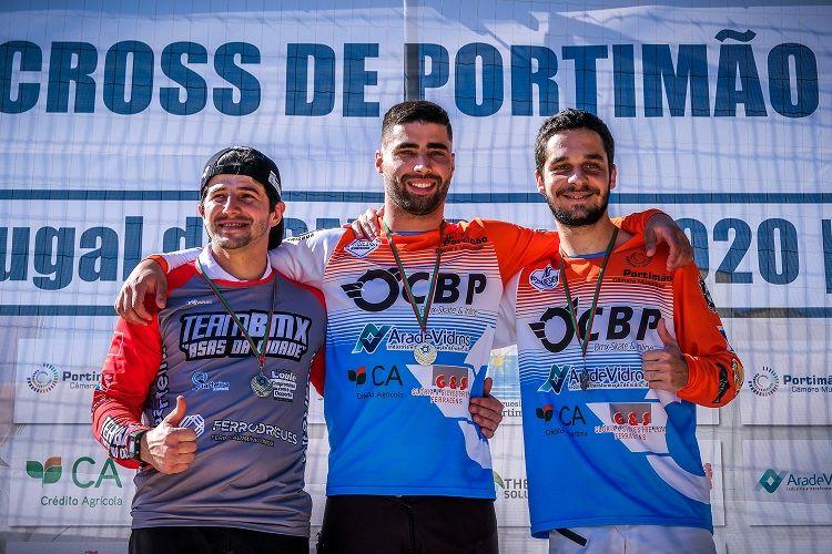 Taça de BMX: Pedro Amaral domina em casa
