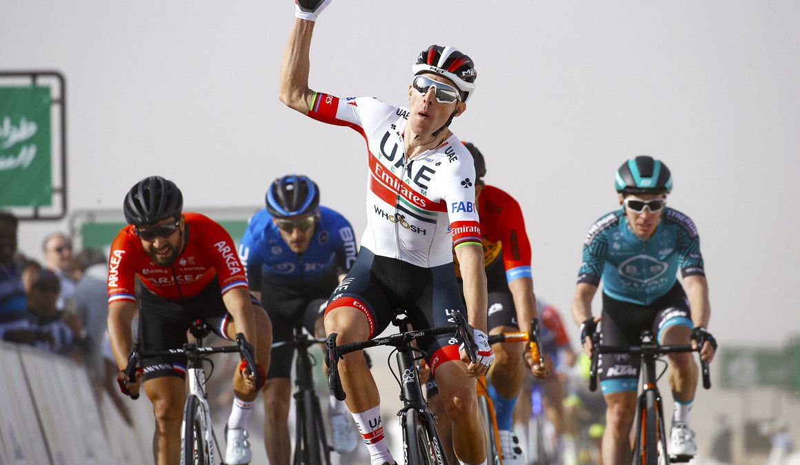 Rui Costa ganha primeira etapa da Volta à Arábia Saudita