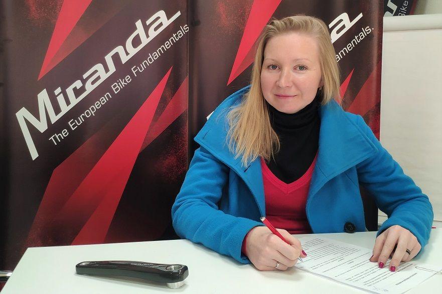 Maaris Meier assina pela Miranda Factory Team