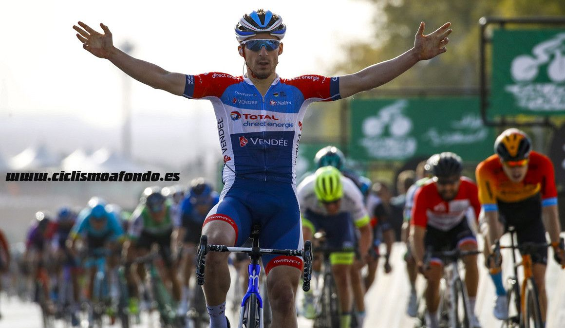 Bonifazio impôs-se na 2ª etapa do Tour da Arábia Saudita