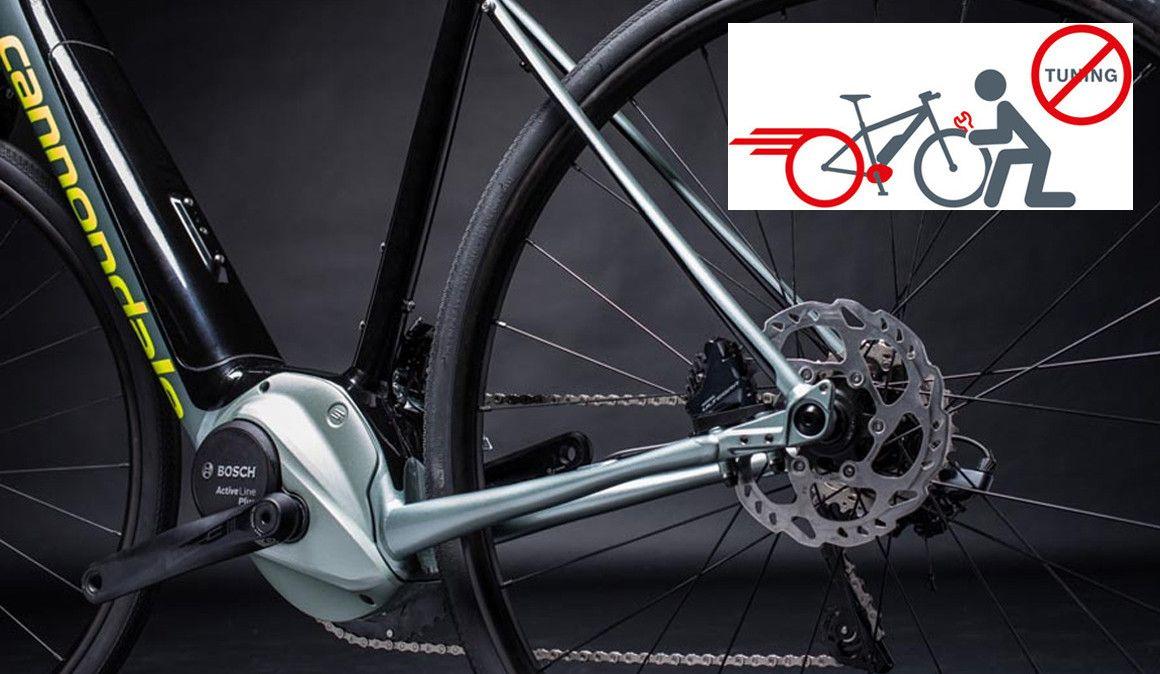 """Sabias que é perigoso fazer """"tunning"""" numa bicicleta elétrica?"""