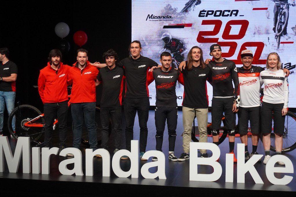 Miranda Factory Team apresentada em Águeda