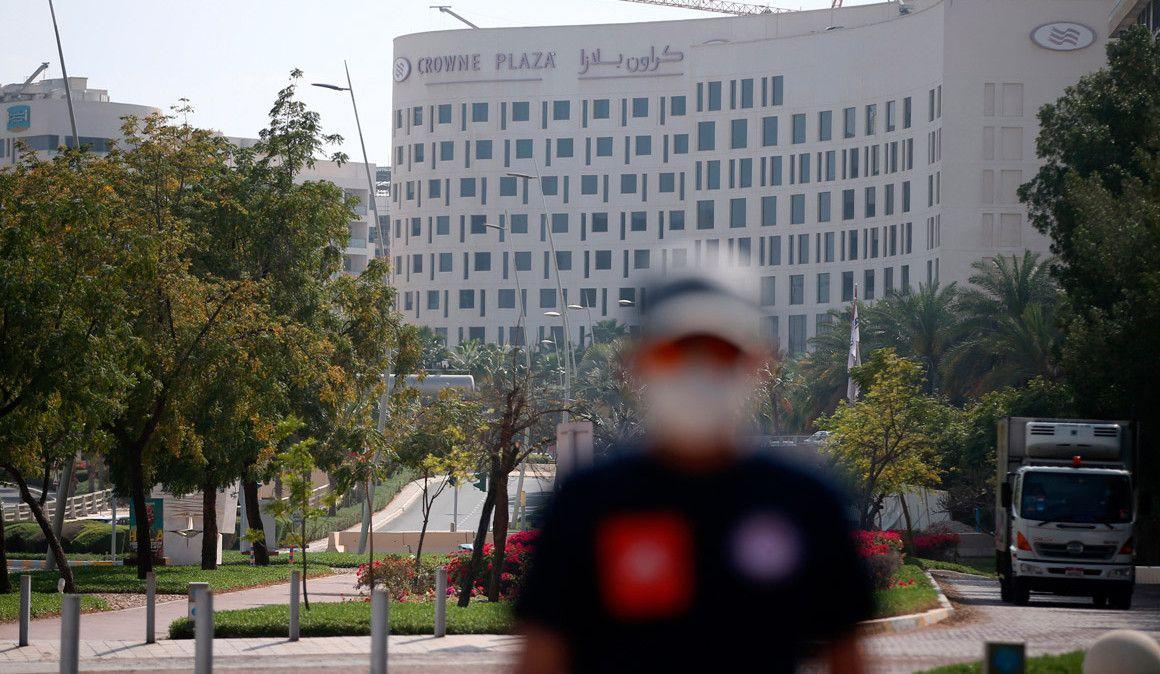 Coronavírus: as 167 análises realizadas no UAE Tour deram negativo