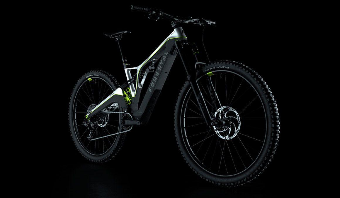 Nova Forestal Siryon, uma e-bike com 4G