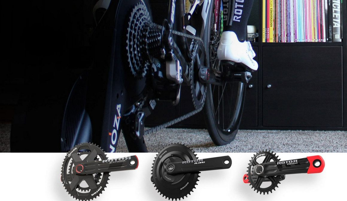 Queres melhorar a tua pedalada no rolo? Com a Rotor é mais fácil.