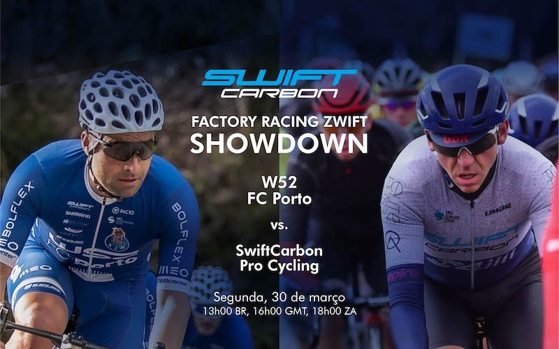 W52-FC Porto e Swift Carbon ProCycling em duelo