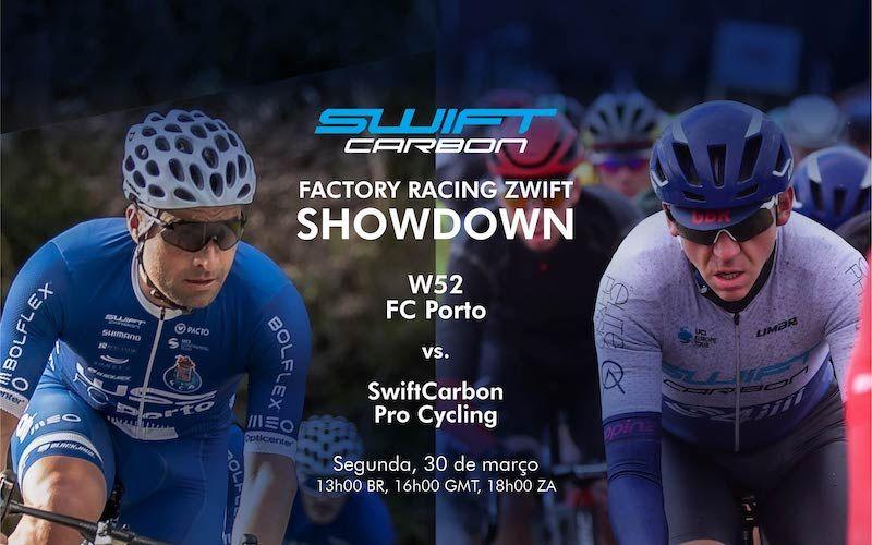 W52-FC Porto e Swift Carbon ProCycling em duelo