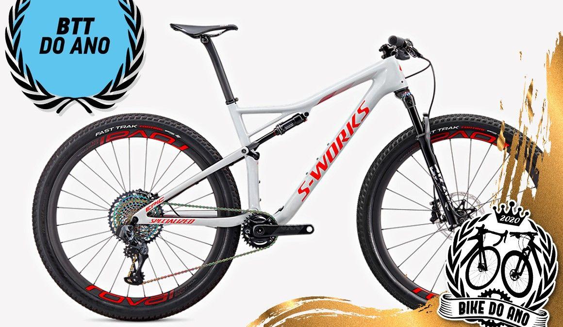 Specialized S-Works Epic AXS é a Bicicleta de BTT do ano 2020