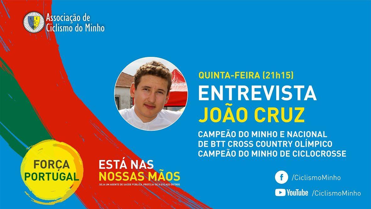 João Cruz será o entrevistado de hoje no facebook da ACM