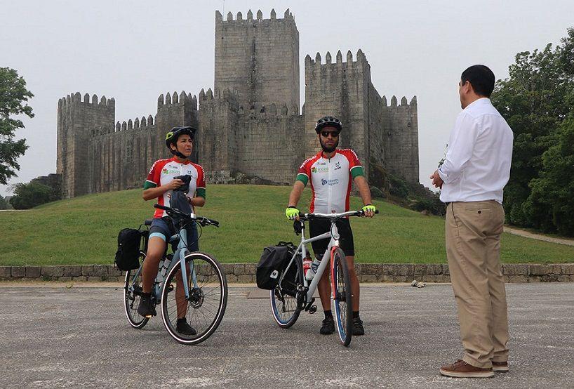 """""""Dar a Volta a Portugal"""" arrancou hoje em Guimarães"""