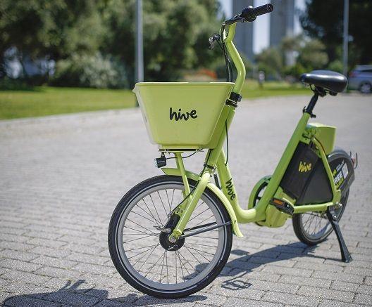 Bicicletas elétricas hive regressam a Lisboa e chegam ao Porto