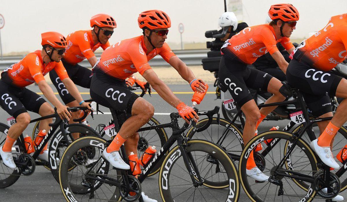 Equipa CCC procura um novo patrocinador enquanto aguarda o reinício da temporada