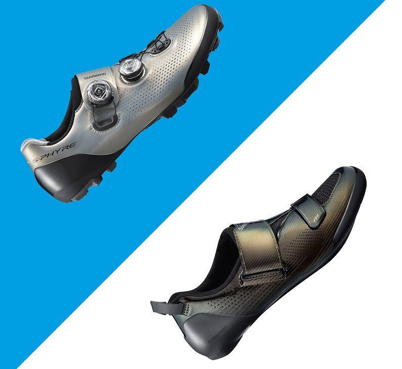 Sapatos de topo para XC e Triatlo da Shimano com novas cores