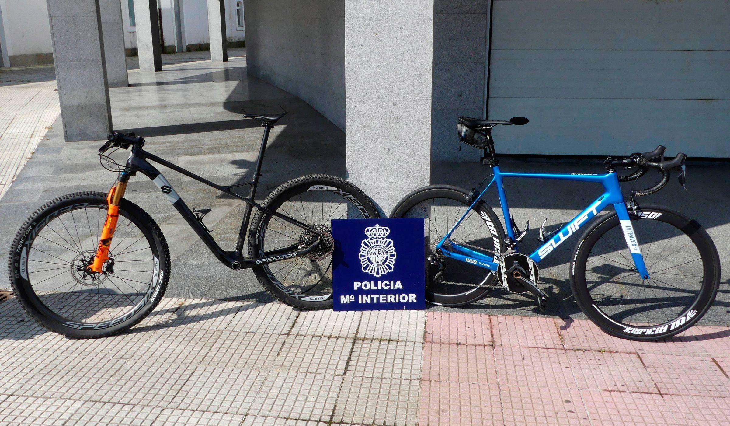 Bicicletas roubadas a Gustavo Veloso foram recuperadas
