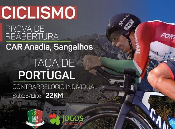 Prova de reabertura do ciclismo será em Sangalhos