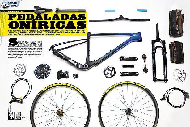 Já pensaste em montar peça a peça uma bicicleta?