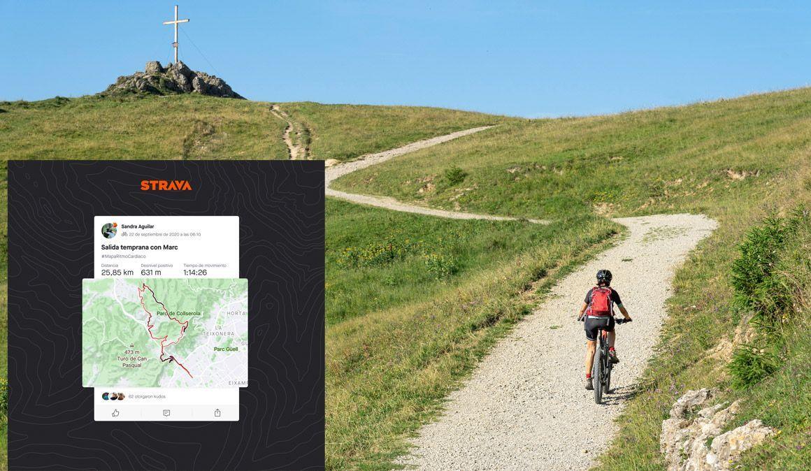 Strava: agora já podes personalizar o traço do percurso