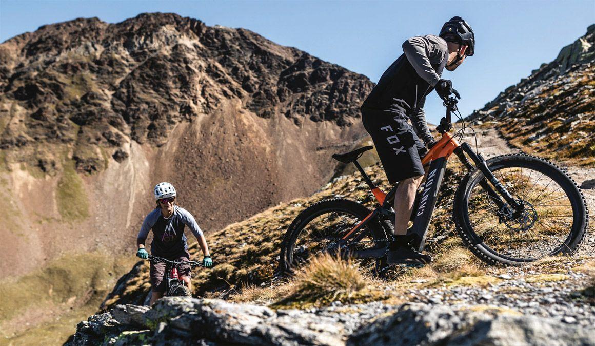 Como recomeçar a pedalar, com uma eBike, numa zona complicada