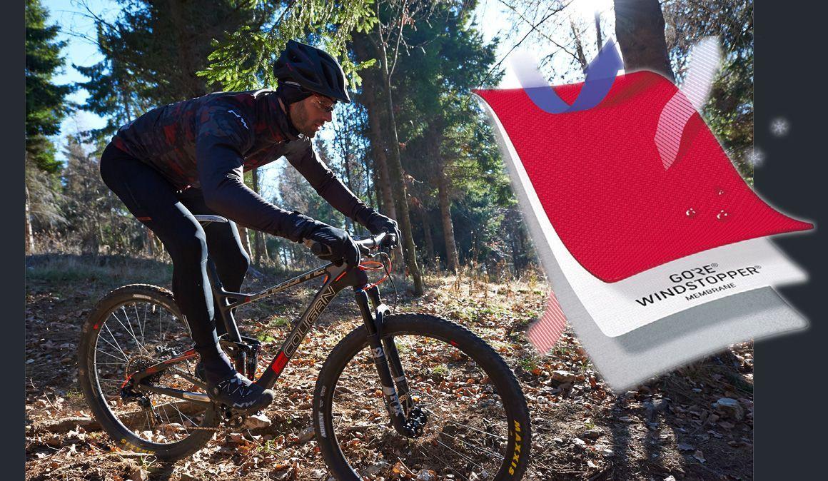 Andar de bicicleta em tempo frio: qual é a roupa adequada?