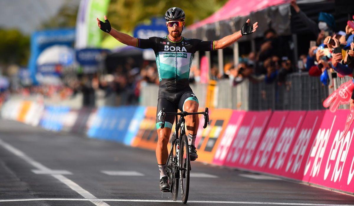 Volta a Itália: vitória memorável de Peter Sagan na 10ª etapa
