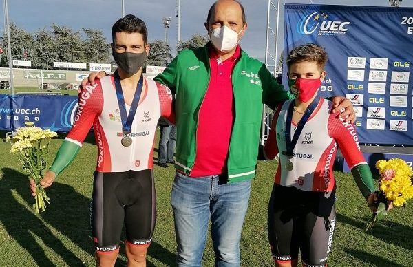 Mais três medalhas de prata para Portugal no Europeu de pista
