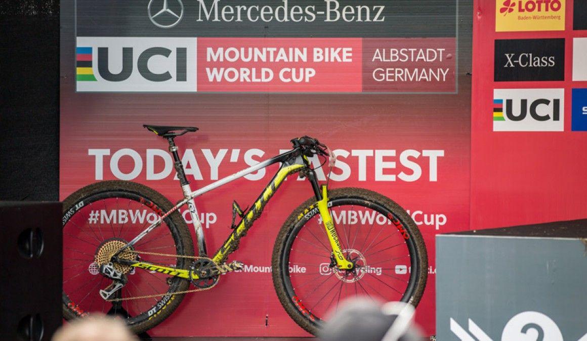 Conhece em detalhe a bicicleta que Nino Schurter usou em Abstadt