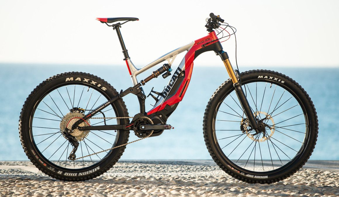 Exclusivo nacional: primeira e-MTB da Ducati apresentada