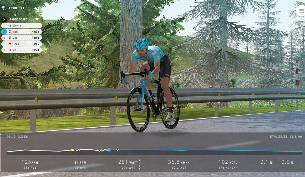 Movistar Virtual Cycling, uma inovadora competição de ciclismo virtual
