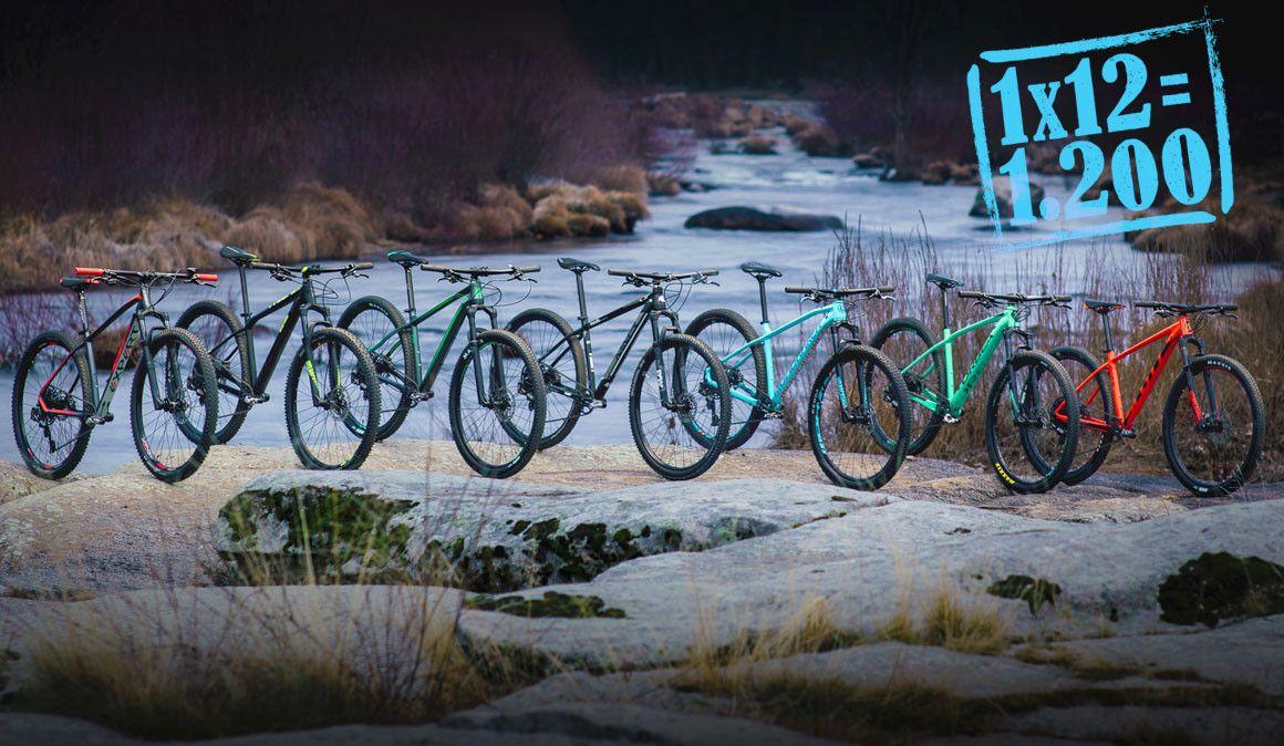 Comparativo: 7 bicicletas de XC com SRAM Eagle por 1.400€