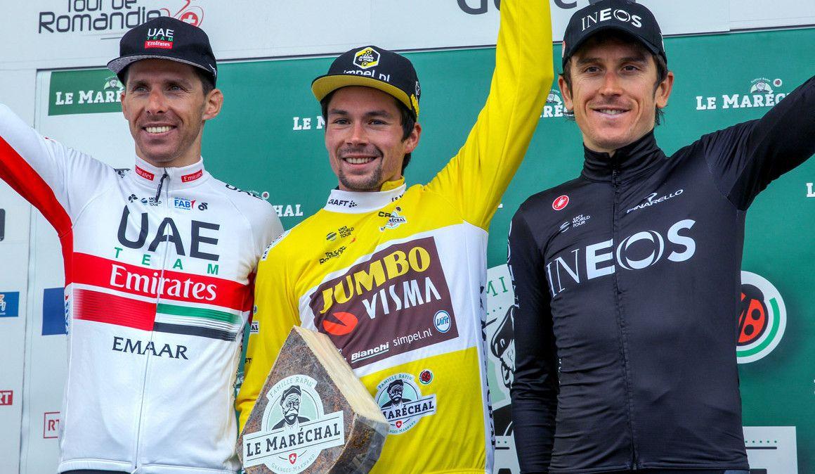 Tour da Romandia: Roglic ganha a geral e Rui Costa garante o 2º lugar