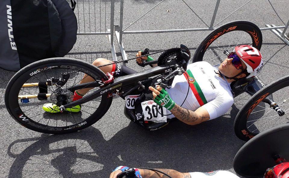 Flávio Pacheco foi 11.º na abertura da Taça do Mundo de Paraciclismo
