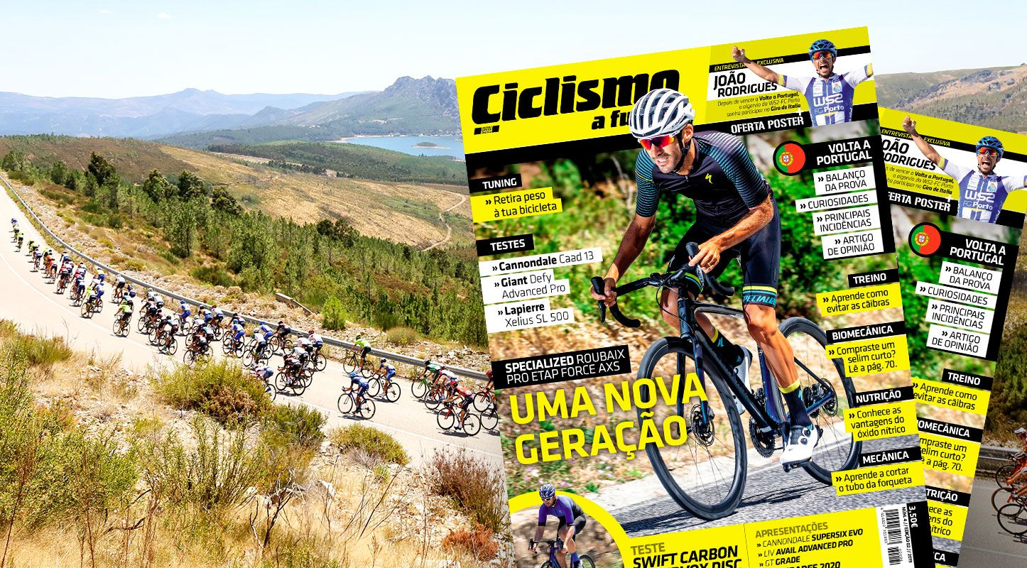 Revista Ciclismo a fundo nº4 já nas bancas