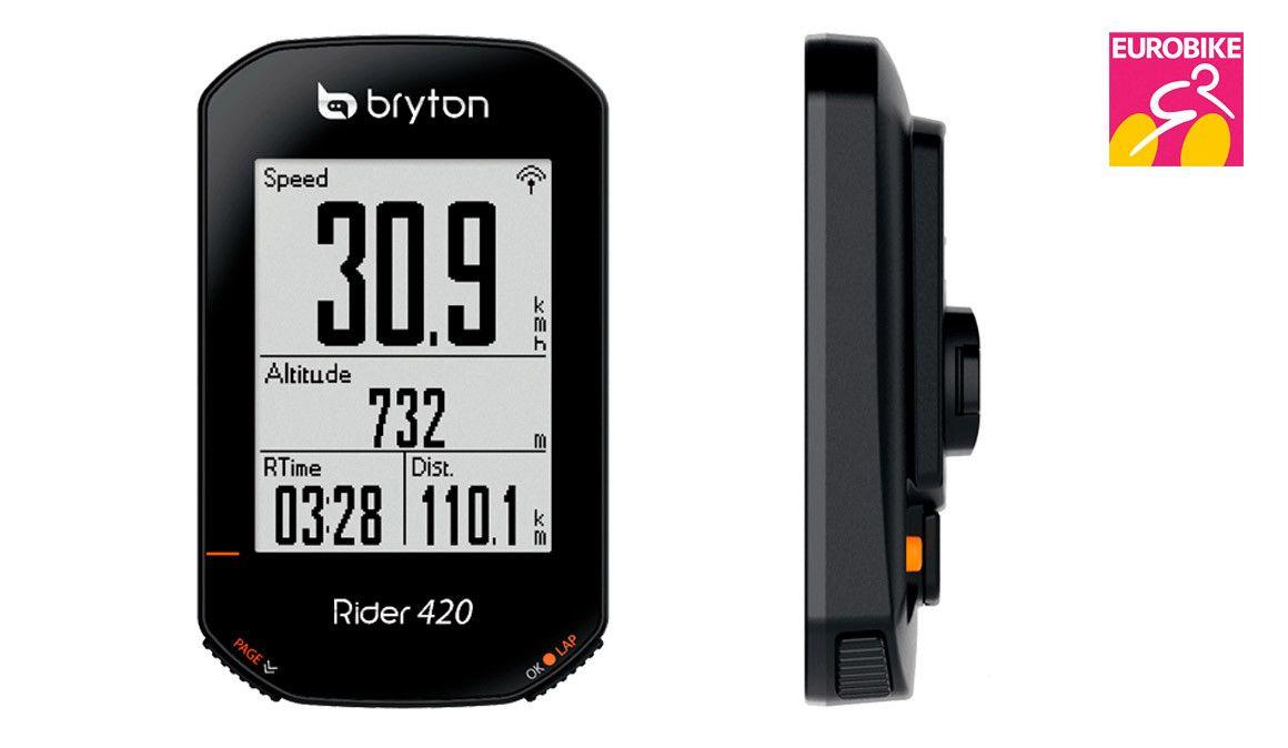 Especial Eurobike: GPS Bryton Rider 420