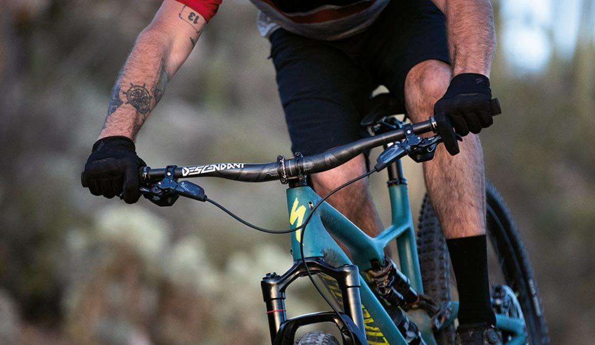 Sentes cansaço nos braços quando andas de bicicleta?
