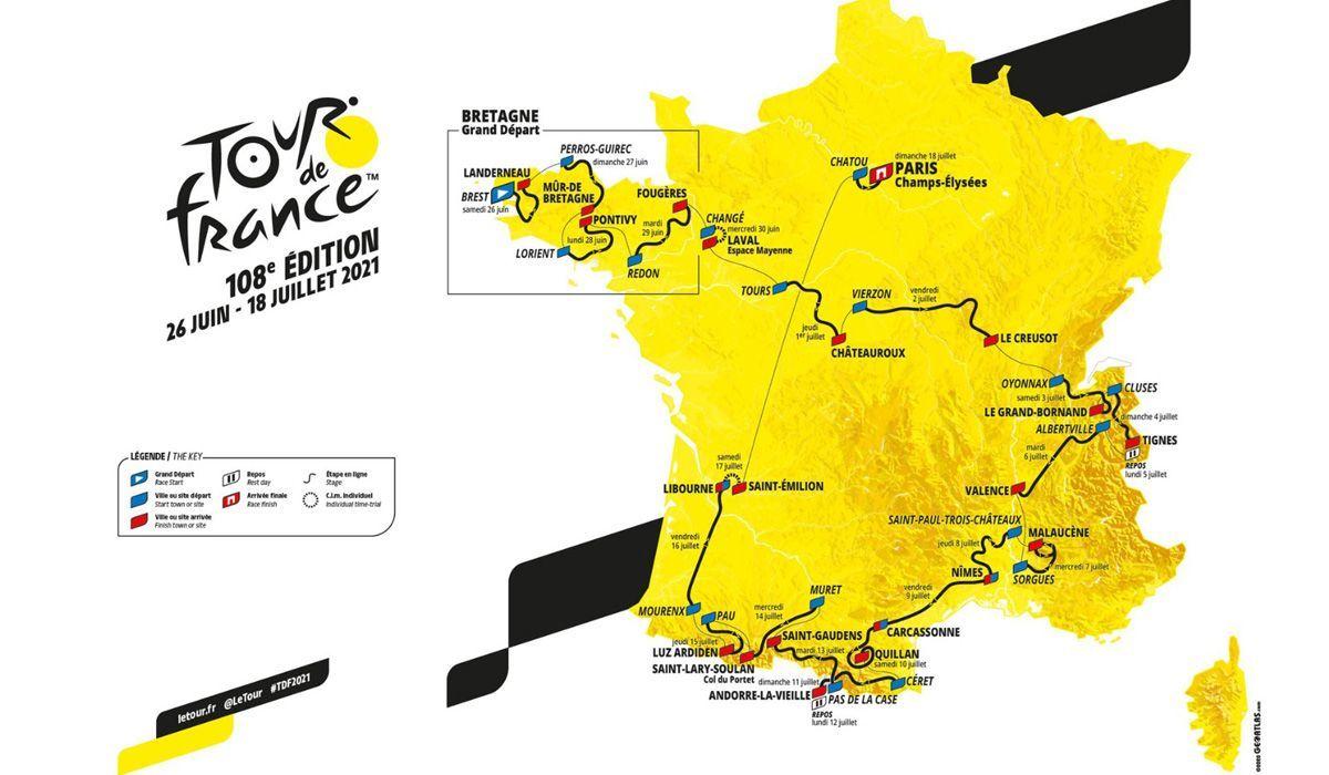 Tour  2021: Pireneus serão os protagonistas