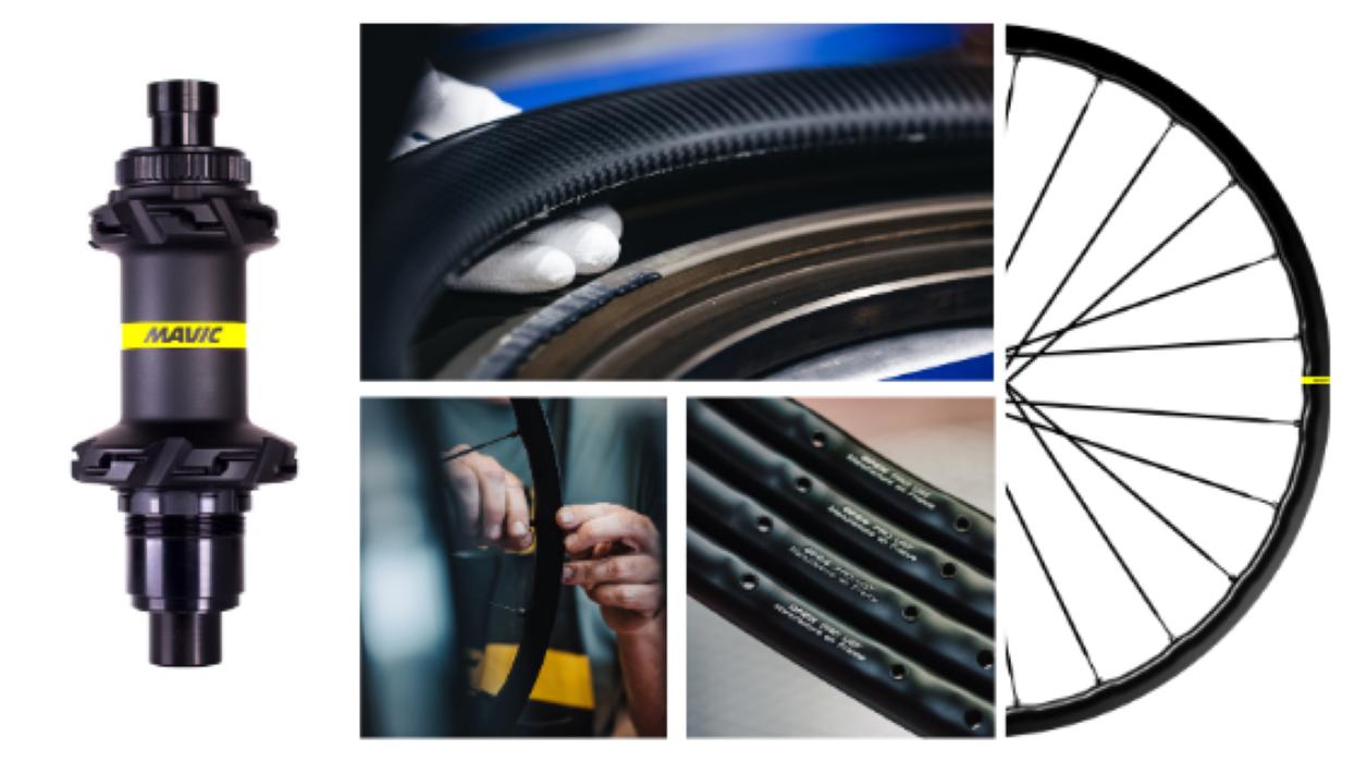 Mavic renova a sua gama de rodas de ciclismo