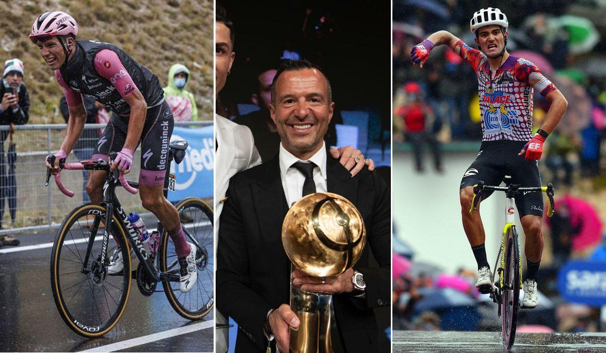 Jorge Mendes entra no mundo do ciclismo e vai agenciar João Almeida e Rúben Guerreiro
