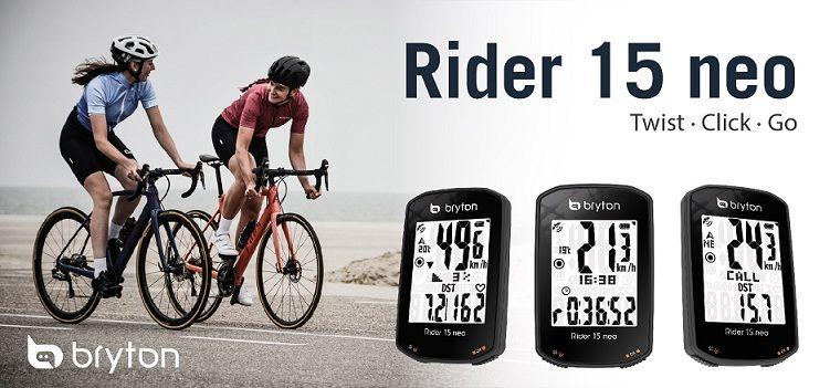 Bryton apresenta o novo GPS Rider 15 Neo