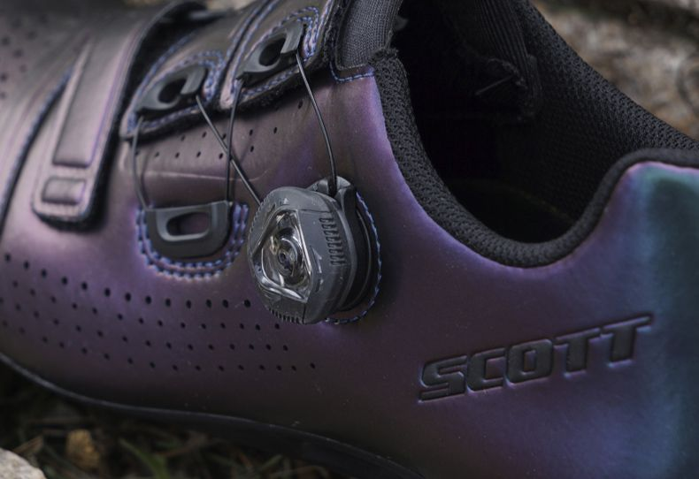 Teste sapatos Scott Road Team BOA
