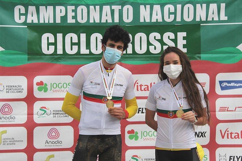 Nacional de ciclocrosse: Mário Costa e Ana Santos coroados em Sangalhos